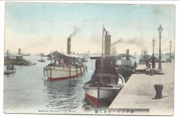 ///  CPA - Asie - JAPON - JAPAN - America Hatoba Pier - KOBE - 1910   // - Kobe