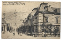 ///  CPA - Asie - JAPON - JAPAN - KOBE - Church And Hyogo Prefectural Office Standing At The Hilly District   // - Kobe