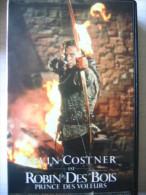 K7 VHS Robin Des Bois Prince Des Voleurs Kevin Costner, Morgan Freeman, Christian Slater, Mary Elisabeth Mastrantonio, A - Action, Aventure