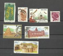 Inde N°1564,1634,1658,1680,1684,1706,1707  Cote 2.95 Euros - India