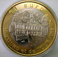 10 Euro Temporaire Precurseur De TOURS ET DE TOURAINE)  1997, RRRR,, BI-Color, Nr. 686 - Euro Der Städte