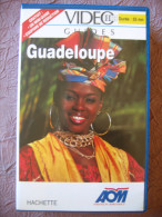 K7 VHS LA GUADELOUPE SAINTES MARIE-GALANTE N°34 Le Papillon Vert - Travel