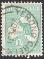 Australia, 1 S. 1929, Sc # 98, Mi # 84, Used, Yerong Creek - Usati
