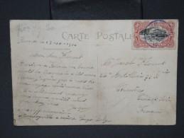 CONGO BELGE-Oblitération De Boma En 1916 Sur Cp De Dakar Pour La France     A Voir  LOT P5538