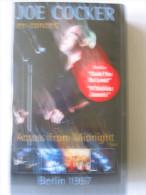 K7 VHS JOE COCKER Across From Midnight Tour Berlin 1997 - Concert Et Musique