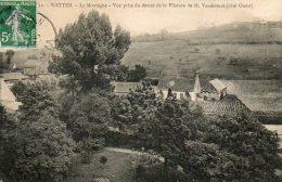 CPA- WATTEN (59) - Aspect De La Filature De M.Vandesmet Au Début Du Siècle - France