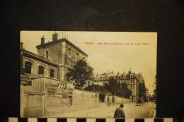 CP, 21, DIJON Rue Du Docteur Chaussier Ecole De Jeunes Filles Voyagé En 1905 - Dijon