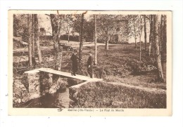 CPA  87 - GORRE Pont Du Moulin : Animation - Pont - Voiture Années 1930/40 - Otros Municipios