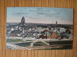 Leipzig, Blick Vom Windmühlenweg Nach Südost, Gelaufen 1913 ! - Leipzig