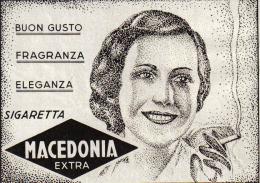 SIGARETTA MACEDONIA EXTRA   1939 PUBBLICITA´ RITAGLIATA DA GIORNALE - Immagine Tagliata