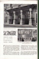 SALSOMAGGIORE  CENTO ANNI DI CURE TERMALI  1939 ARTICOLO  RITAGLIATO DA GIORNALE - Immagine Tagliata