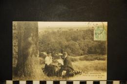 CP, 92, LE PLESSIS ROBINSON Point De Vue Du Bel Air N° 311 Voyagé En 1906 Ed Malcuit - Le Plessis Robinson