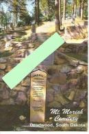 Cpm St000104  Dakota Du Sud , Deadwood , Cimetière Du Mont  Moriah Tombe De Wild Bill Hickock Et Calamity Jane - Etats-Unis