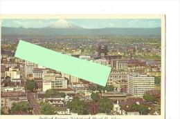 Cpsm St000101 Portland , Centre D'affaires De La Ville Et Le Mont Sainte-hélène - Portland