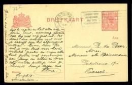 HANDGESCHREVEN BRIEFKAART Uit 1920 Van AMSTERDAM Naar CASSEL DEUTSCHLAND * VOORDRUK *  (9803M) - Postal Stationery