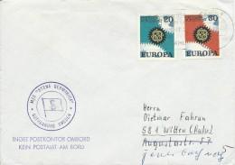 "BRD - 1967 - ENVELOPPE POSTEE à BORD Du NAVIRE ""STEN GERMANICA"" à GOTHENBURG (SUEDE) - BRD"