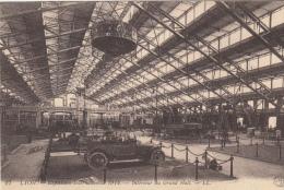 69  LYON   EXPOSITION INTERNATIONALE 1914  INTERIEUR  DU GRAND HALL - Lyon