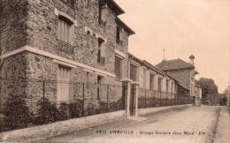 """Cpa  92  Chaville , Le Groupe Scolaire """" Jean Macé """" - Chaville"""