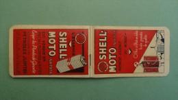 Carnet pub avec calendrier1929,Bon �tat mais incomplet _2 photos