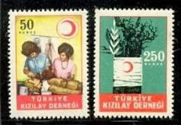 TURKISH RED CRESCENT ASSOCIATION STAMPS MNH ** - 1921-... République