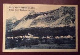 PLEZZO - PLEZ : ANNULLO AUSTRIACO SU MICHETTI 40c.- PER UDINE NEL 1926 - Slovenia