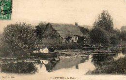 CPA- WATTEN (59) - Aspect Du Marais Au Début Du Siècle - France
