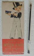Marque Page Cigarettes Week-end / Cigarettes Balto - Ill. D'après René Vincent - Tabac - Documents