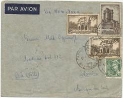 1939 FRANCIA CORREO AÉREO - FRANCIA, CANCELACIÓN ORDINARIA DE PARIS - Airmail
