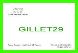 VATICAN - CTV, CENTRO TELEVISIVO VATICANO - PALAZZO BELVEDERE - - Vatican