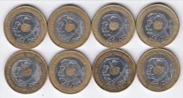 **** LOT 8 X 20 FRANCS 1994 PIERRE DE COUBERTIN 1863-1937 **** EN ACHAT IMMEDIAT !!! - France