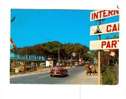 MARINA DI MASSA,V.le Delle Pinete-Camping-1974-BENZINA FINA-Auto-CAR-MINI-!!!!!!!! - Massa