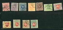 Lithuania 1919 Accumulation Used - Lithuania