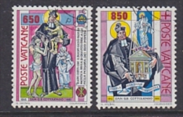 Vatican City 1992 Giuseppe Benedetto Cottolengo 2v Used (21947B) - Gebruikt
