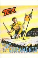 Cartolina 3/9 Tex Willer Bonelli Galleppini - Stripverhalen