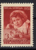 Yugoslavia,Children's Week 1950.,MNH - 1945-1992 Socialist Federal Republic Of Yugoslavia