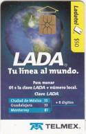 MEXICO - Lada, Calendar 2003, used