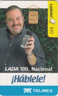 MEXICO - Mobile Phone, Lada 100 Nacional, used