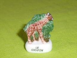 Fèves / Animaux : La Girafe,le Girafon   T61 - Animaux