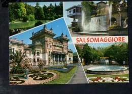 J2517 SALSOMAGGIORE TERME ( PARMA, SPA ) Vedute, Multipla - SAL 50 ED. ALESSANDRA - USED 1997 - Italie