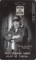 """MEXICO - Quaker State, Elias Castillo """"Trailero"""", used"""