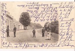 CAPPELLEN KAPELLEN HEIDESTRAAT 1901 STEMPEL Re 684 - Kapellen