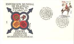 Carta De1975 Dia De La Onu - 1931-Hoy: 2ª República - ... Juan Carlos I