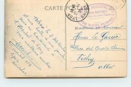 CACHET - Hôpital Municipal N°3 De Lyon Montchat, 46 Rue Besson-Basse Lyon. - Marcophilie (Lettres)