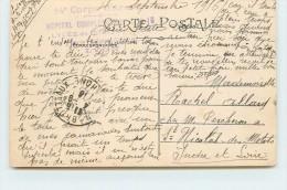 CACHET - Hôpital Complémentaire N°16,Lycée De Jeunest,14em Corps D'armée Lyon. - Marcophilie (Lettres)