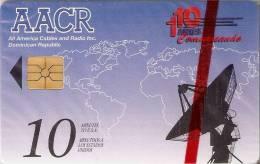 TARJETA CON CHIP DE LA REP. DOMINICANA DE AACR (NUEVA-MINT) (MUY RARA)