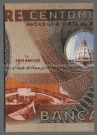 U3814 BANCONOTA CENT MILLES LIRES CENTO MILA LIRE LIRA (tur) - Monete (rappresentazioni)