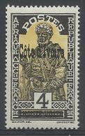 Ivory Coast (French Colony), 4c., Upper Volta Overprint, 1933, MH VF - Ivory Coast (1892-1944)