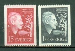Sverige 1959 Yv. 440/441** Mi  449/450**  MNH - Neufs