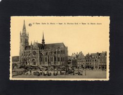 54487    Belgio,    Ypres,  Eglise St. Martin,  NV - Ieper