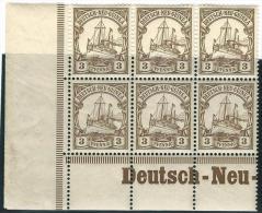 Deutsch  Neu  Guinea         Michel    24         6x           **             Postfrisch  OHNE    Falz - Kolonie: Duits Nieuw-Guinea